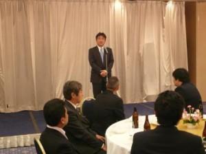 開催地 船橋YEG 篠原会長の挨拶