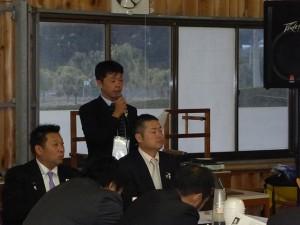 講演会 司会 西川企画副委員長①