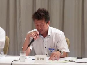 ㉒第4回役員会堀松委員長