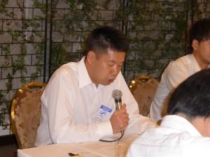 加藤 企画委員会委員長(1区)